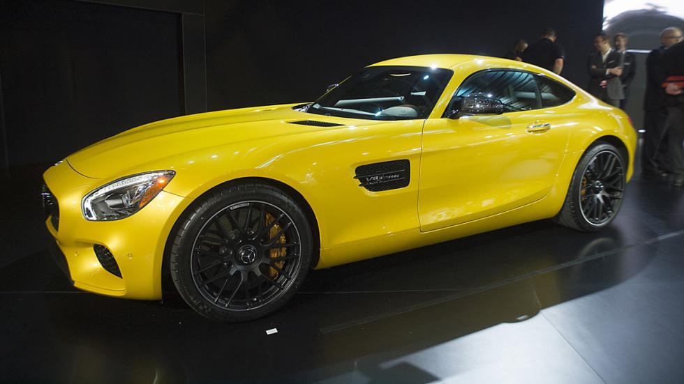 coches más esperados 2015 Mercedes-AMG GT zaga