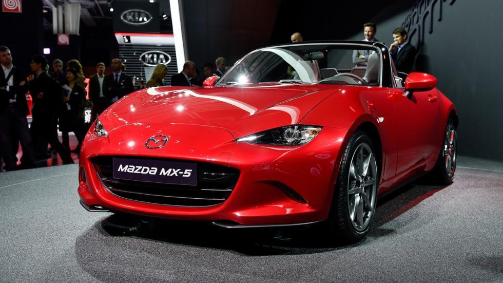 coches más esperados 2015 Mazda MX-5