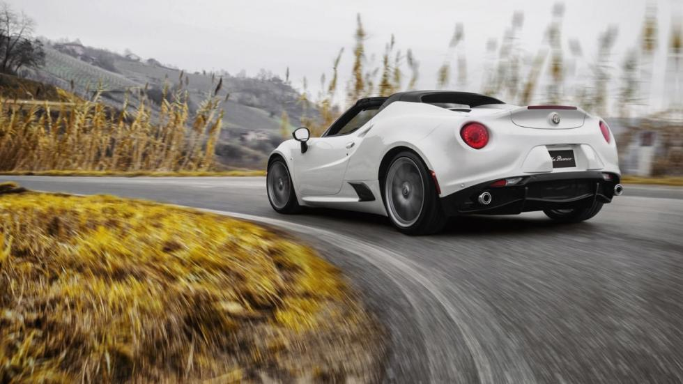 Alfa Romeo 4C Spider trasera