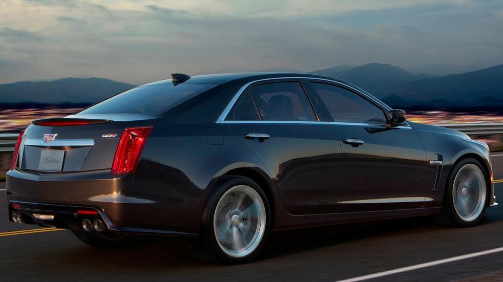 Cadillac CTS-V 2016 trasera