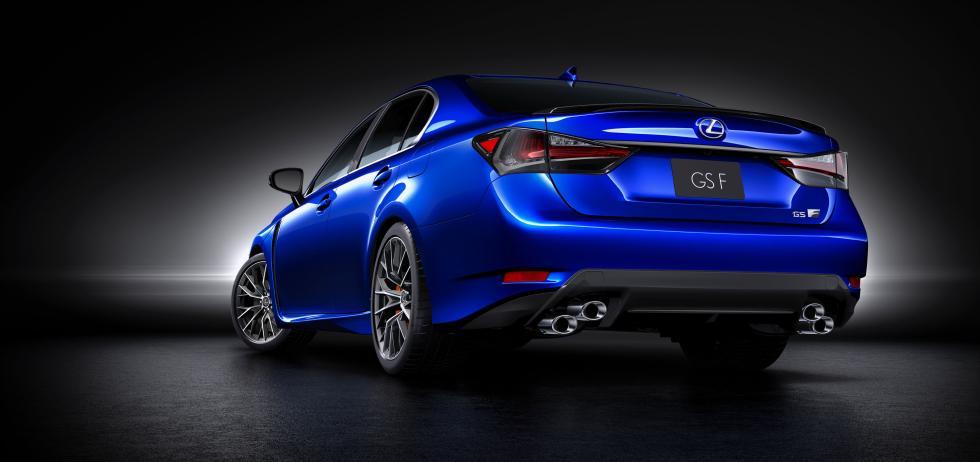 Lexus GS-F trasera