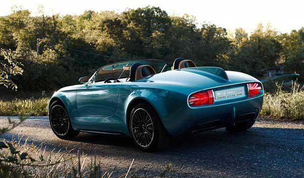 Mini SuperLeggera Vision Concept trasera