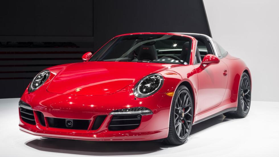 Porsche 911 Targa 4 GTS morro