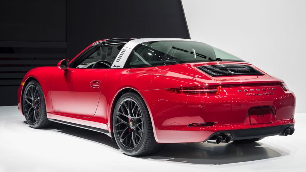 Porsche 911 Targa 4 GTS trasera