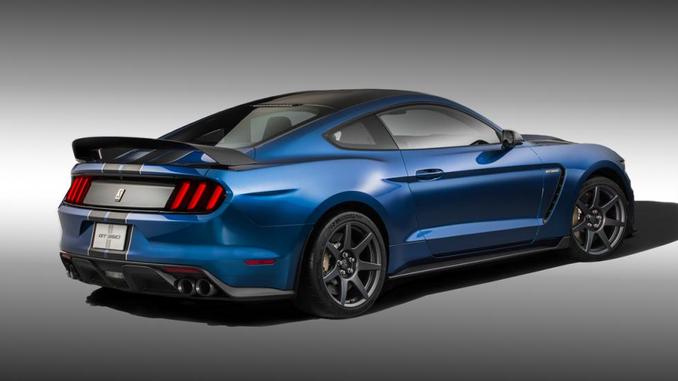 Ford Mustang Shelby GT350R 2016 - Trasera