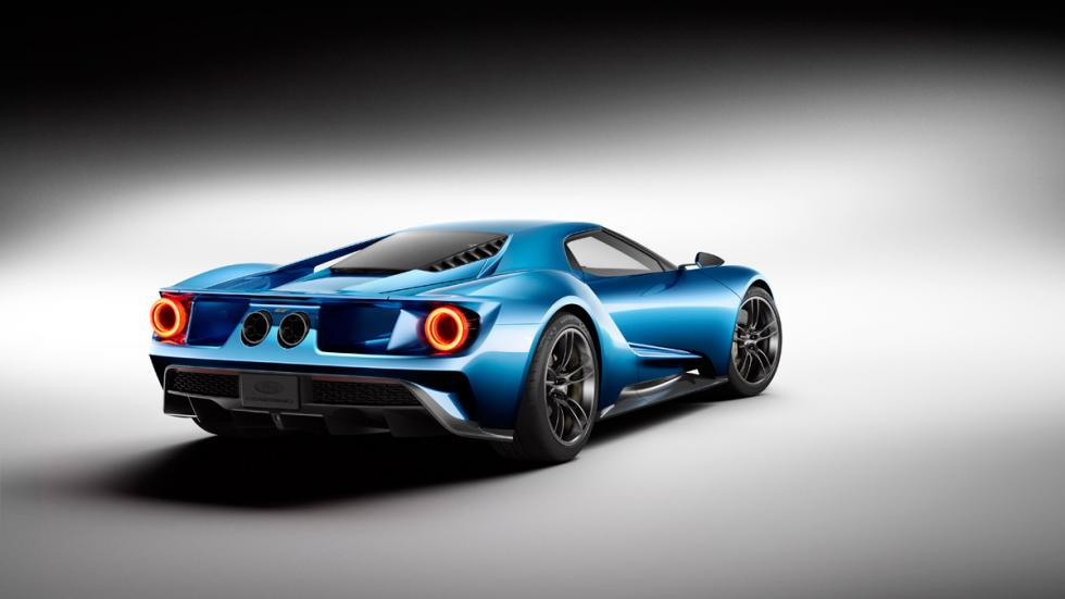 Ford GT 2017 - Trasera