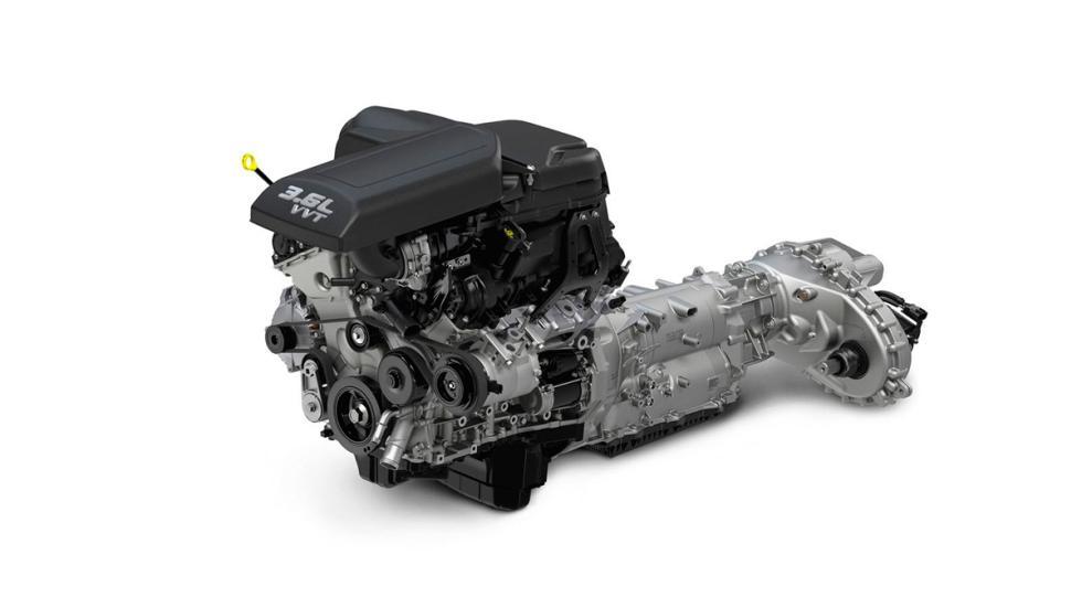 RAM-1500-Rebel - motor V6