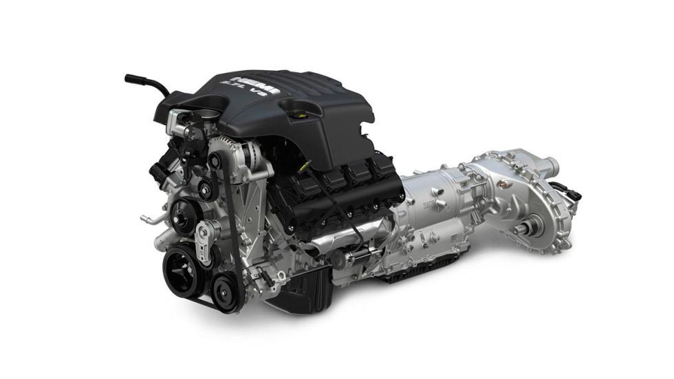 RAM-1500-Rebel - motor V8
