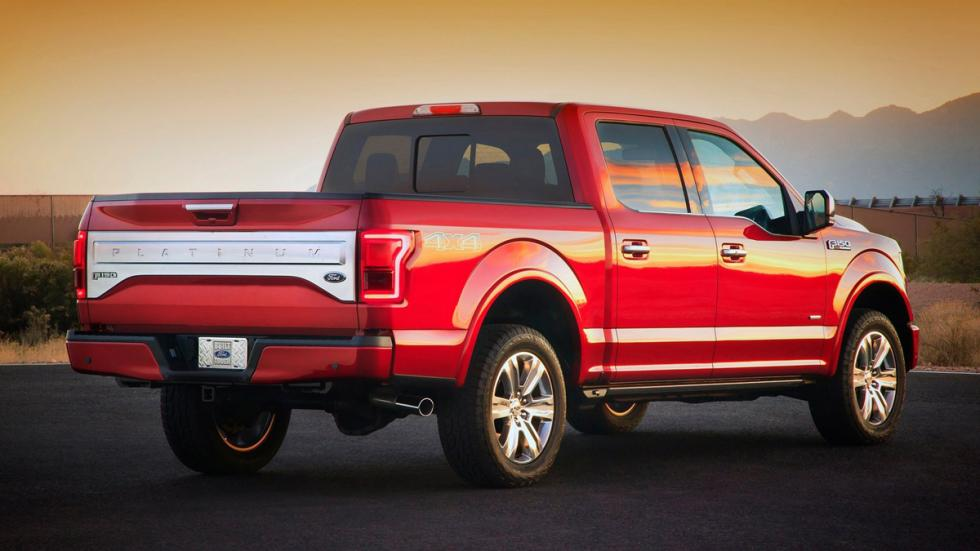 coches perfectos Ruta 66 Ford f-150 zaga