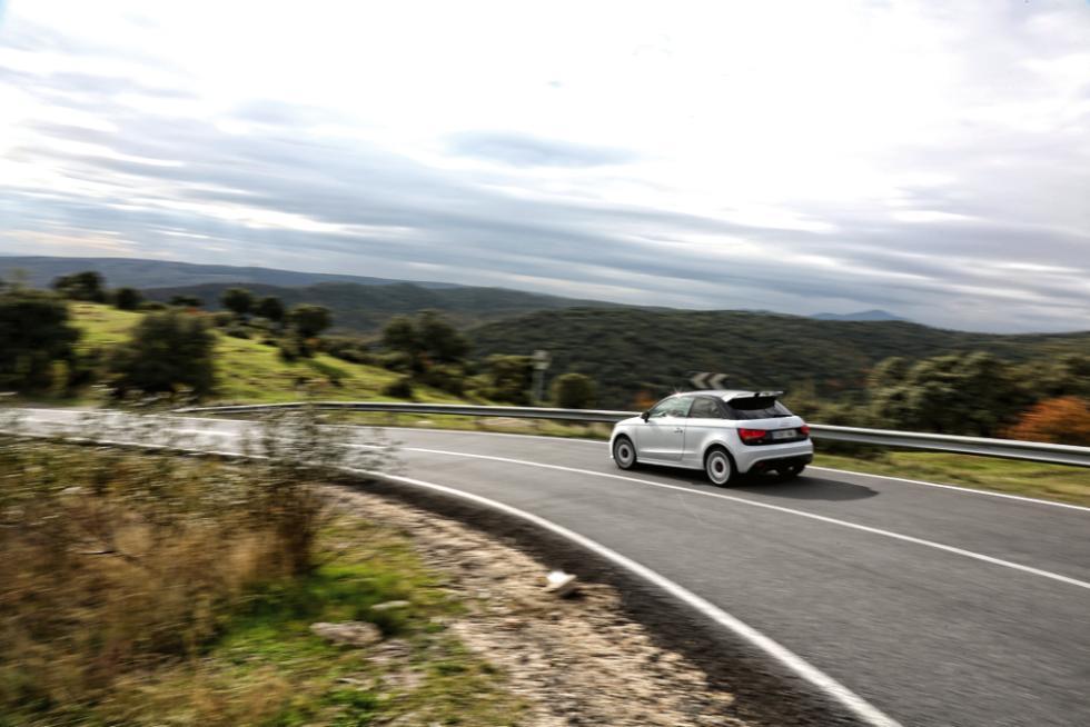 Audi A1 quattro trasera
