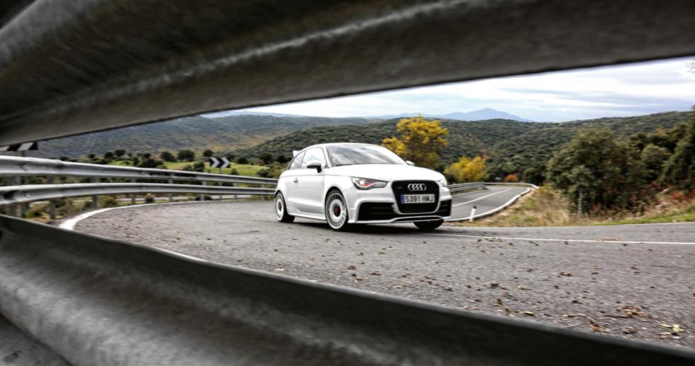 Audi A1 quattro delantera