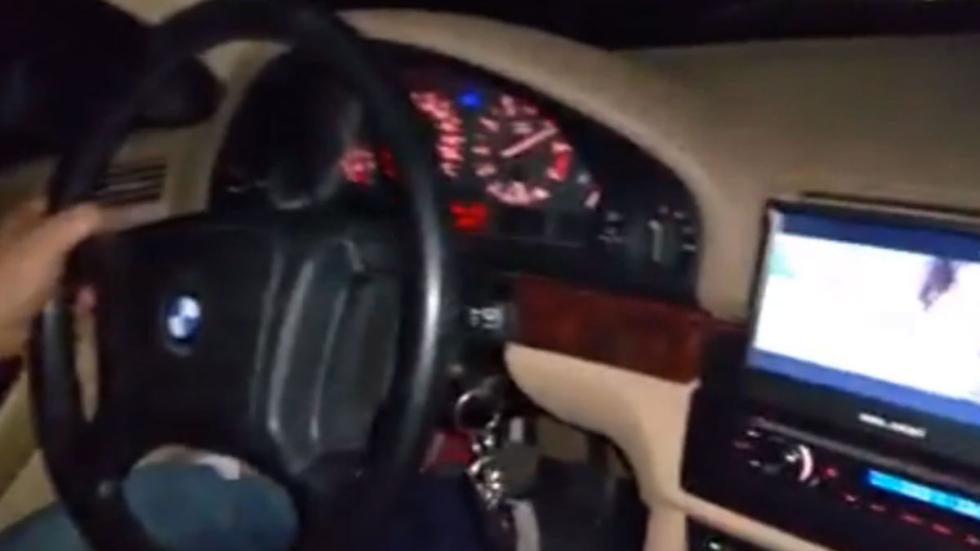 ciudadano búlgaro conduciendo a 240 km/h