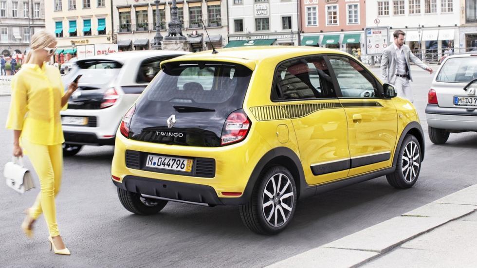 mejores coches ciudad Renault Twingo zaga