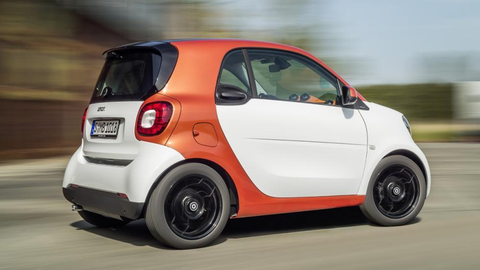 mejores coches ciudad Smart fortwo zaga