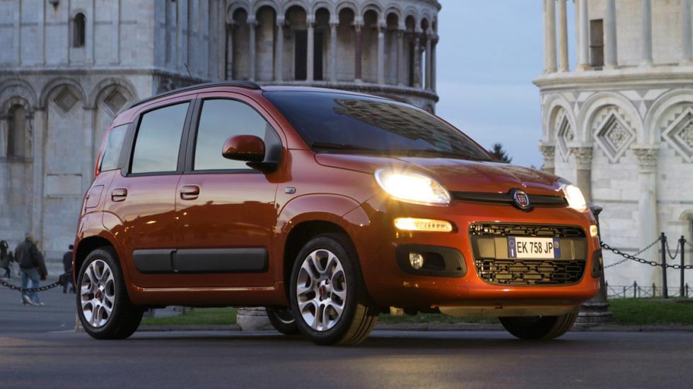 mejores coches ciudad Fiat Panda