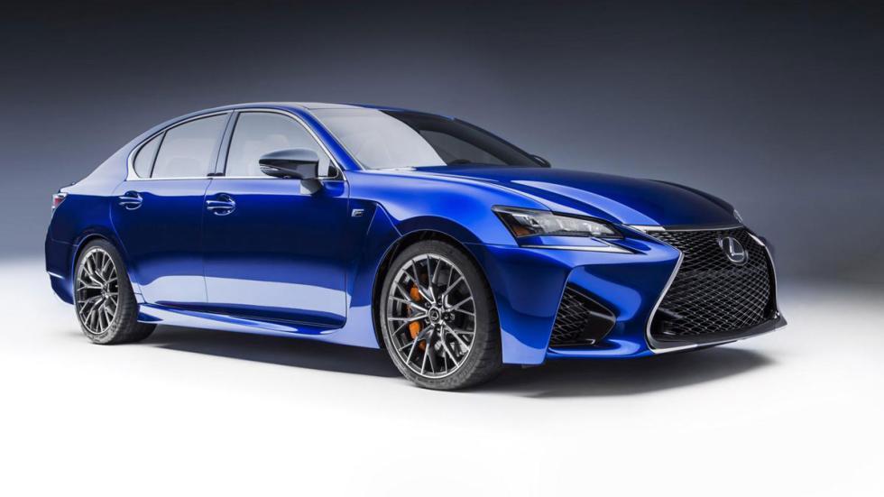 Nuevo Lexus GS-F 2015