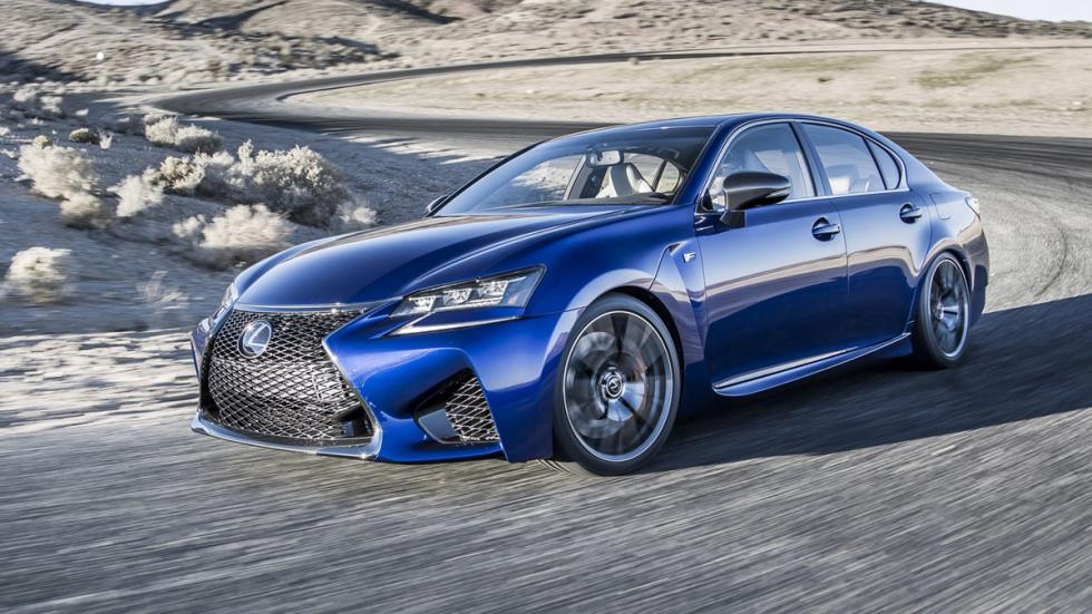 Lexus GS F 2015 movimiento