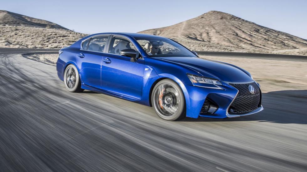Lexus GS F 2015 delantera movimiento