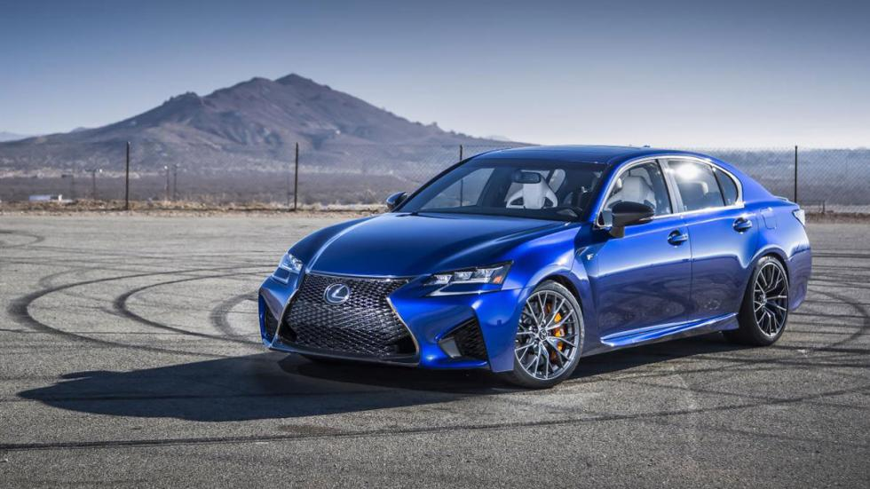 nuevo Lexus GS F estática tres cuartos