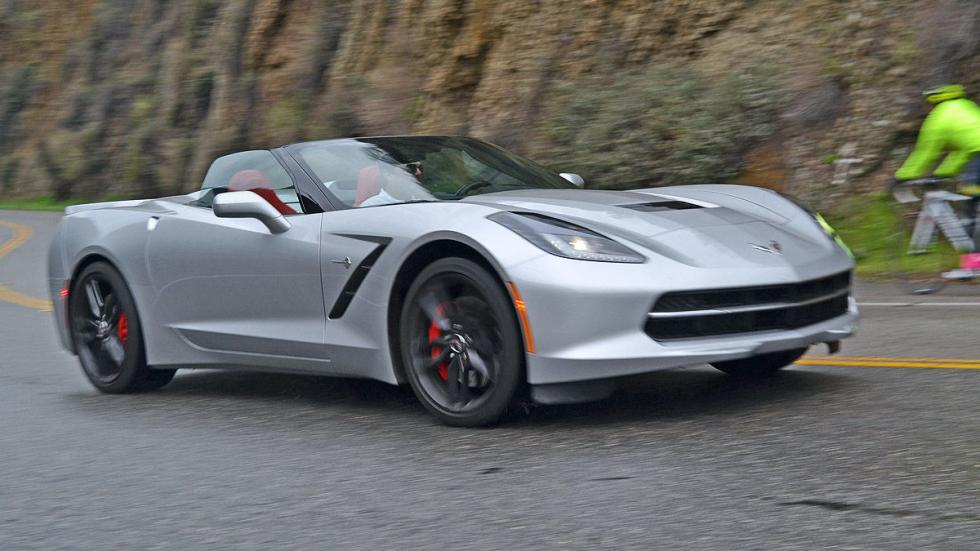 Chevrolet Corvette C7 Stingray lateral dinamica