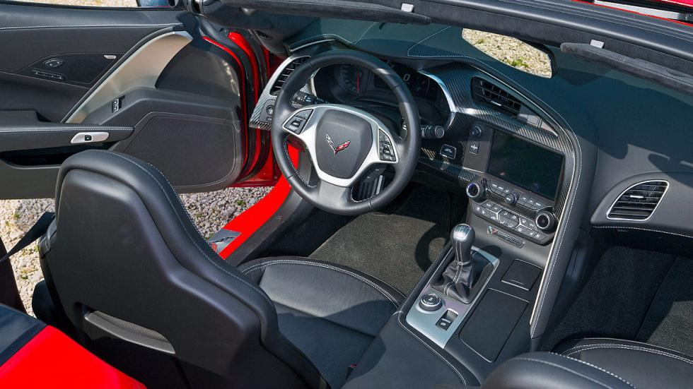 Chevrolet Corvette C7 Stingray interior