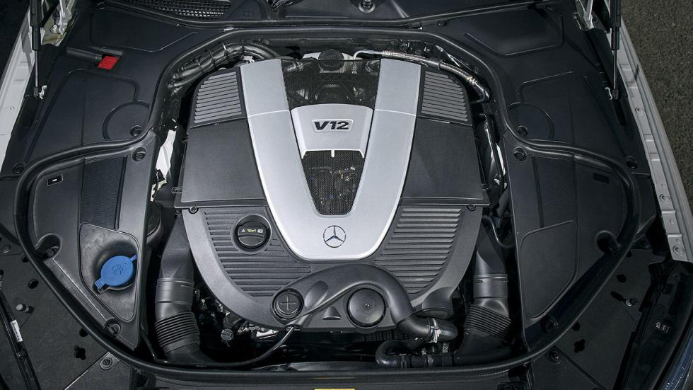 Mercedes-Maybach S 600 motor