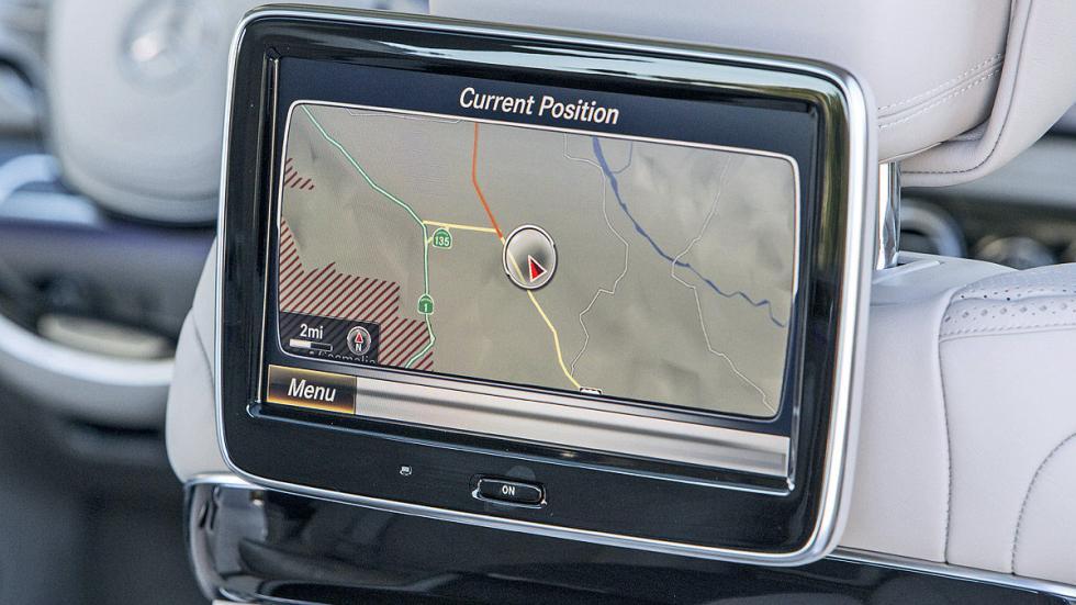 Mercedes-Maybach S 600 pantalla