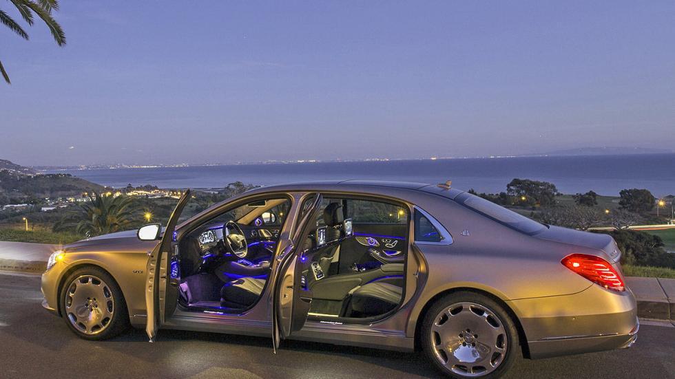 Mercedes-Maybach S 600 puertas