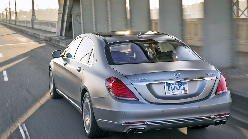 Mercedes-Maybach S 600 zaga