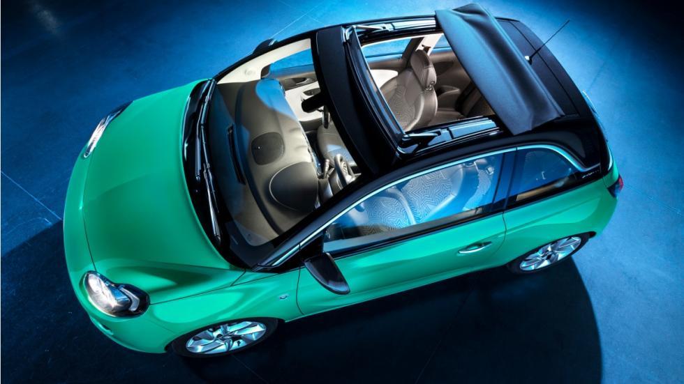 Opel Adam techo de lona lateral