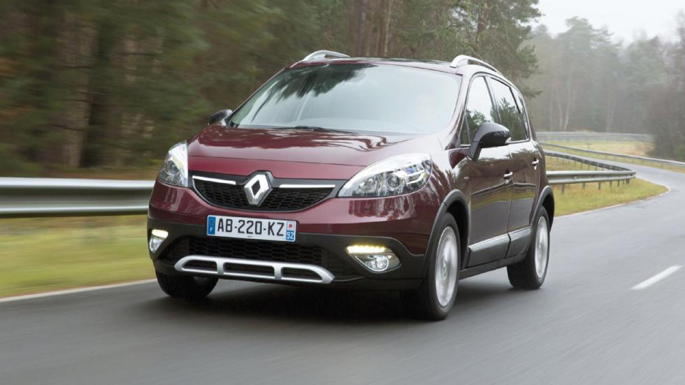cinco coches estética SUV Renault Scenic Xmod