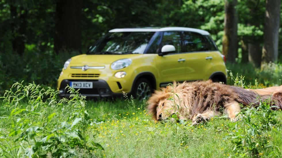 cinco coches estética SUV Fiat 500L Trekking