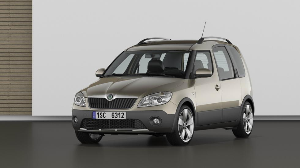cinco coches estética SUV Skoda Roomster Scout