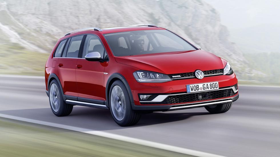 cinco coches estética SUV Volkswagen Golf Alltrack