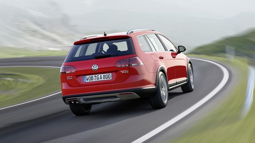 cinco coches estética SUV Volkswagen Golf Alltrack zaga