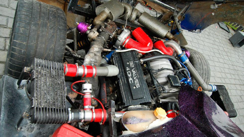 Réplica Pagani Zonda motor