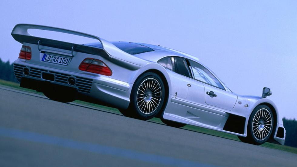 superdeportivos más exclusivos Laferrari Mercedes CLK GTR AMG zaga