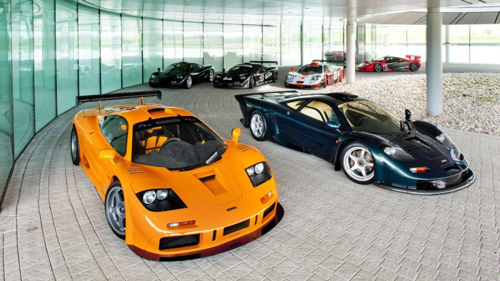superdeportivos más exclusivos Laferrari McLaren F1 grupo