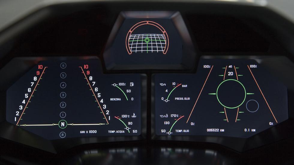 Lamborghini Aventador cuadro mandos