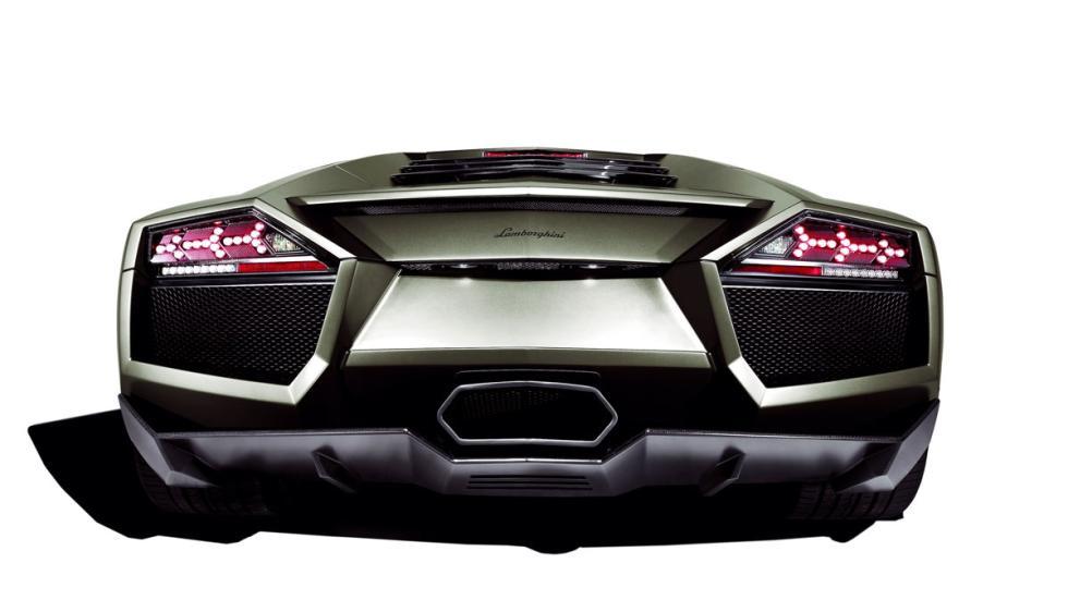 Lamborghini Aventador trasera