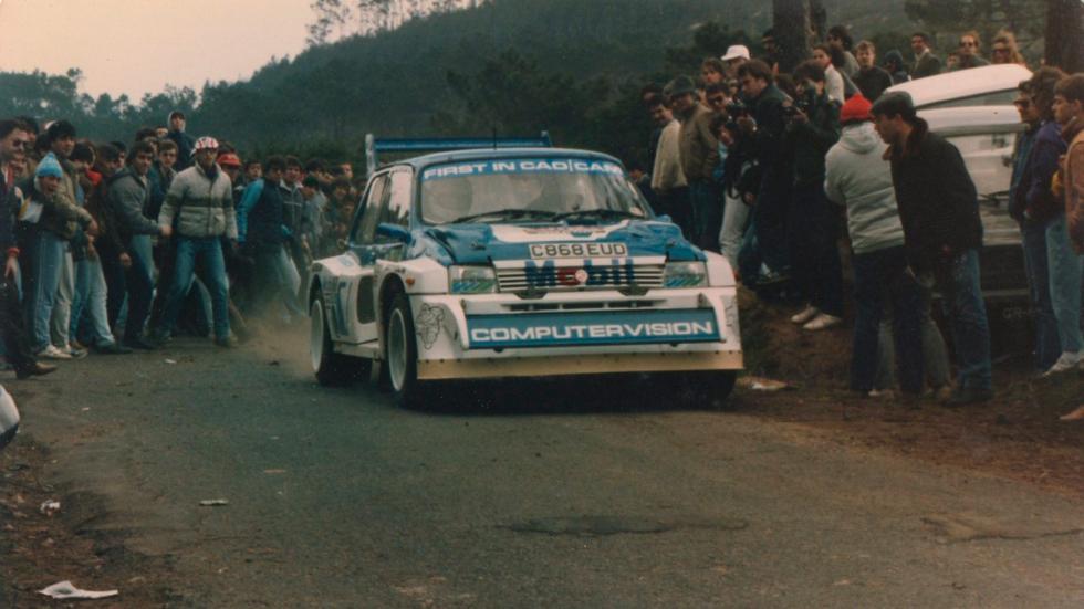 MG-Metro-6R4-Tramo de rally