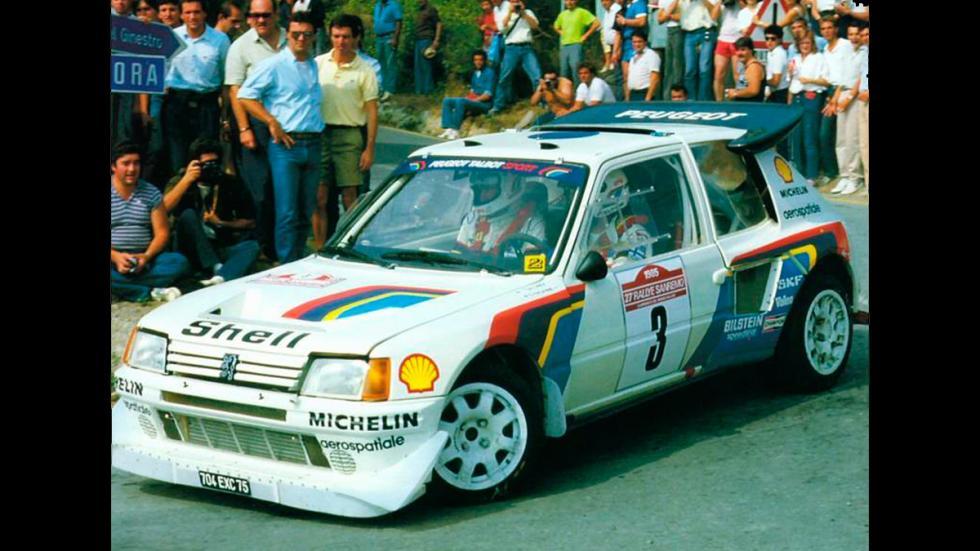 Peugeot-205-T16-Juha Kankkunen