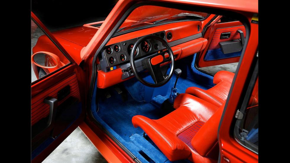 Renault 5 Maxi Turbo-Interior