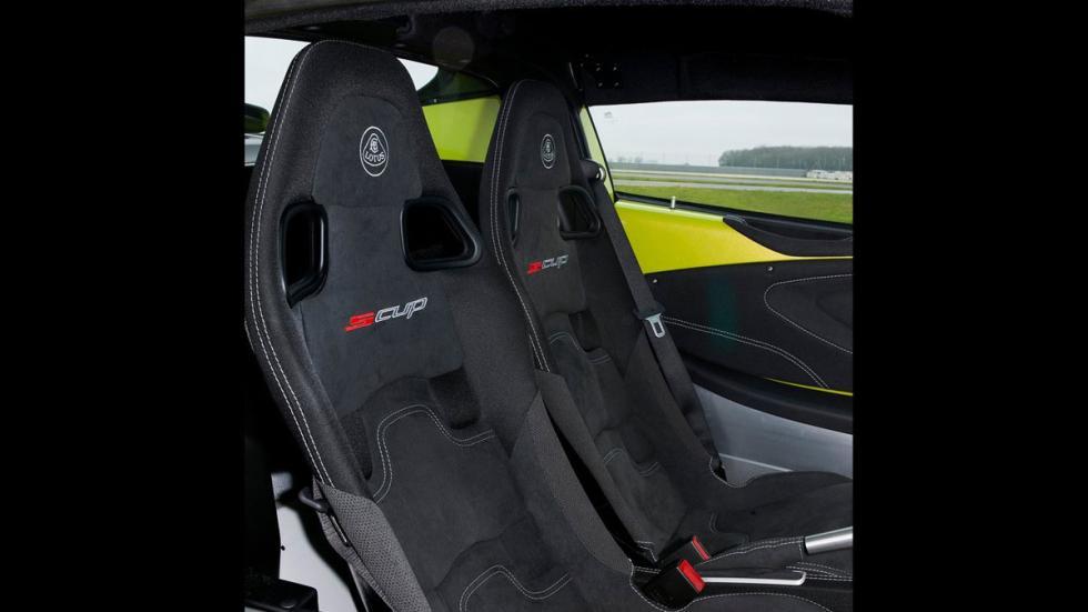 Lotus Elise S Cup asientos