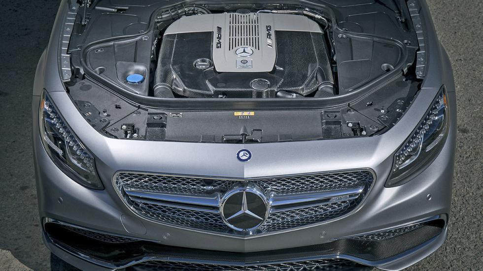 Mercedes S 65 Coupé AMG detalle motor