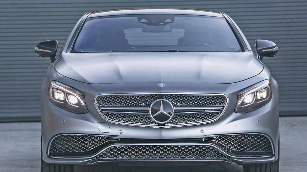 Mercedes S 65 Coupé AMG detalle parrilla