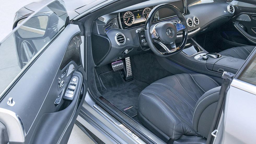 Mercedes S 65 Coupé AMG detalle puerta