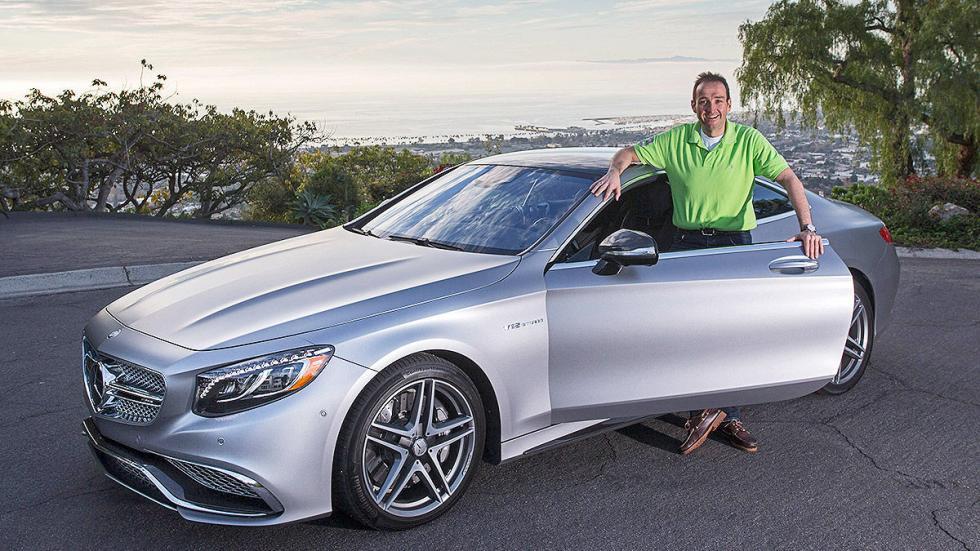 Mercedes S 65 Coupé AMG detalle redactor