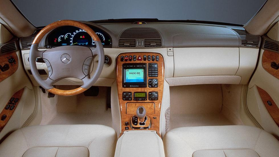 Mercedes CL 500 interior