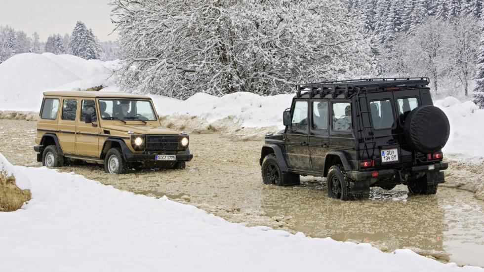 coches reyes nieve Mercedes Clase G zaga